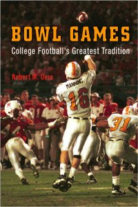 book cover - History of College Football Bowl Games